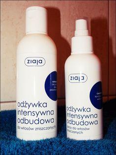 odżywki bez spłukiwania do włosówzniszczonych firmy ZIAJA  | Babski-kuferek