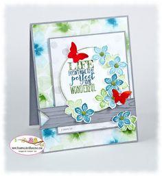 Stampin Up Petite Petals card by Sandi @ www.stampingwithsandi.com