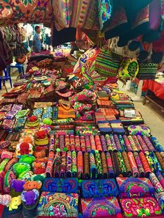 Beautiful colorful souvenirs! Phuket night market, Thailand | by E Villa