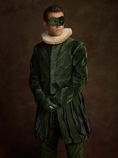 Sacha Goldberger Baroque Superheroes Portraits
