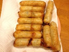 Finding Ways to Nguyen Students Over: Vietnamese Egg Rolls - bake, don't fry, and leave out the meat?