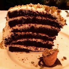 White Chocolate Cannoli Cake...