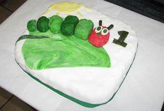 Happy Caterpillar Cake