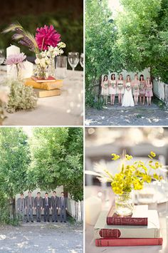 really adorable backyard wedding