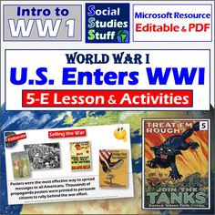 Social Studies Resources, Reading Resources, School Resources, Teacher Resources, Teaching Ideas, American History Lessons, Map Skills, Homeschool Curriculum, Wwi