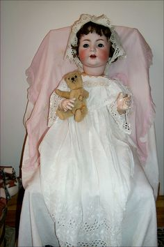 Made in 1910 at the doll company in Georgenthal, near Waltershausen Germany.