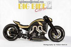 BIG BIKE CUSTOM N°1 München - Yamaha Vmax 1.0 Extrem Foliert
