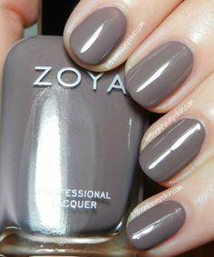 Zoya Naturel Collection Swatches- Normani @Zoya Zinger Nail Polish