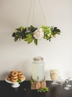FESTIVAL BRIDES | DIY Tutorial – Hanging Floral Chandeliers | shot by www.oldbearmedia.com