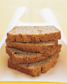 Banana-Walnut Loaf Recipe