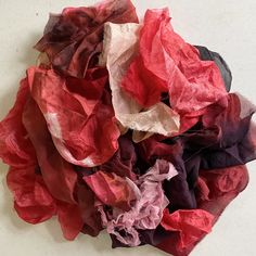 Excited to share this item from my #etsy shop: Hand Dyed Pure Silk Scraps for Nuno Felting and other Fiber Art and Mixed Media Projects - Cherry Red, Burgundy, Pink, and Black #11 Red Burgundy, Nuno Felting, Cherry Red, Fabric Scraps, Pure Silk, Silk Fabric, Fiber Art, Mixed Media, Etsy Shop