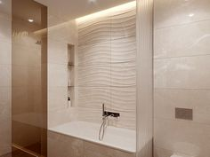 Дизайн интерьера ванной комнаты Alcove, Sweet Home, Bathtub, Bathroom, Standing Bath, Washroom, House Beautiful, Bathtubs, Bath Room