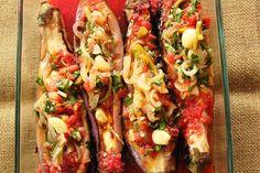 Vegetarian Eggplant Dish (Imambayildi)