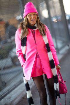 Street Style New York Fashion Week Fall 2014