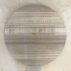 Ash Clock - 60cm Shop Clocks - Kirsty Badenhorst Interiors | Ikat & Ivory | Online Store Ikat, Clocks, Ash, Ivory, Interiors, Shopping, Gray, Watches