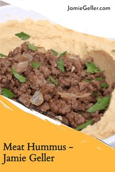 Hummus is an amazing vegetarian spread, but you can turn it into a more substantial meal by topping it flavored ground beef. #israeli #glutenfree #spices Shawarma Seasoning, Make Hummus, 5 Ingredient Recipes, Quick Easy Meals, Ground Beef, Glutenfree, Beef Recipes, Spices, Vegetarian