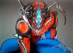 Spider-Man Spider Armor | Armor'd Spiderman Reboot WIP by redemption88