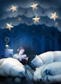 'She Reads Them to Sleep' by Peyton Duncan