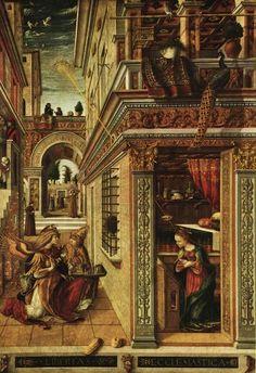 L' Annunciazione di Carlo Crivelli - 1486 d.C. / Ufo mistery