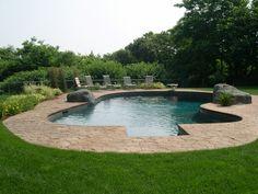 Rock Lagoon Style Swimming Pools MA