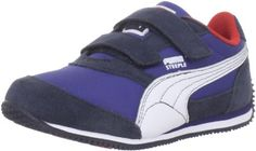 Puma Steeple V Sneaker (Toddler/Little Kid/Big Kid) Puma. $30.95. Outsole: Rubber. Insole: EVA. Leather and fabric. Manmade sole. Upper: Suede. Fit: True to Size