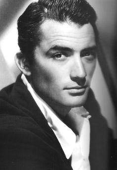 Gregory Peck, antiguo pero muy guapo