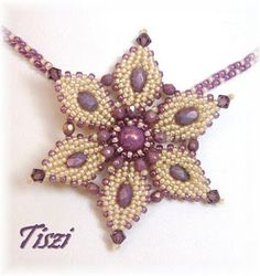 Tiszi gyöngyékszerei: Virág