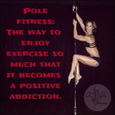 Pole fitness at OC Pole Fitness!