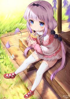 Anime Couples MaidDragon, Kanna Kamui, by Nyum - Post with 0 votes and 14 views. MaidDragon, Kanna Kamui, by Nyum Lolis Anime, Fan Art Anime, Anime Artwork, Anime Chibi, Anime Maid, Girls Anime, Anime Girl Cute, Manga Girl, Anime Art Girl