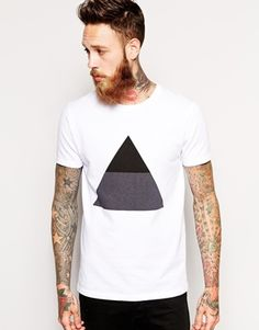 HAN+T-Shirt+with+White+Triangle+Pattern
