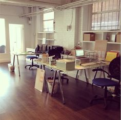 New office #upgrade #toronto #startup #knixwear #officespace