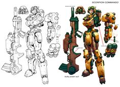 DCO.MMO.90'sMech.tech. by *Chuckdee