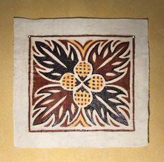 Picture Samoan Patterns, Pattern Art, Pattern Design, Polynesian Art, Hawaiian Designs, Easy Canvas Art, Indian Folk Art, Textiles, Batik Prints