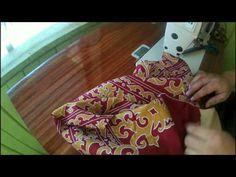 Cara pasang furing/lining Kemeja (part 2) - YouTube