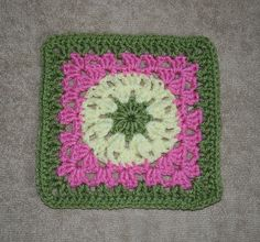 "Pumpkin Patch 6"" Square ~ free pattern"