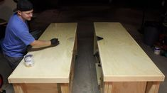 DIY Mobile & Modular Workbench To Bring Your Shop to the Next Level – Gadgets and Grain Garage Workbench Plans, Building A Workbench, Workbench Designs, Mobile Workbench, Diy Workbench, Jet Woodworking Tools, Woodworking Bench Plans, Woodworking Projects Diy, Diy Wood Projects