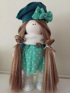 Milana Handmade Interior Doll Art Fabric by MrsPenelopeCosiness