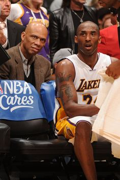 2 of the greatest Lakers ever, Kareem Abdul-Jabbar & Kobe Bryant http://cholowear.online/
