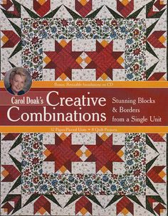 """PRE-ORDER (Mid-Feb) Creative Combinations - """"The Quilted Crow Quilt Shop, folk art quilt fabric, quilt patterns, quilt kits, quilt blocks"""