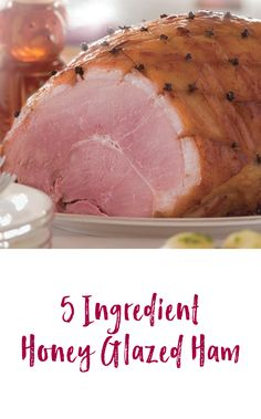 A simple and easy ham recipe. The flavorful glaze adds a sweet punch to this traditional meal.