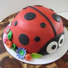 Een geweldige lieveheersbeest taart!