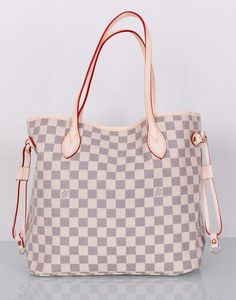 Сумка Louis Vuitton  Neverfull Damier Azur Canvas