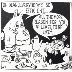 Moomin comic strips by Tove Jansson Illustrations, Illustration Art, Les Moomins, Moomin Valley, Tove Jansson, Oui Oui, Grafik Design, Comic Strips, Childhood