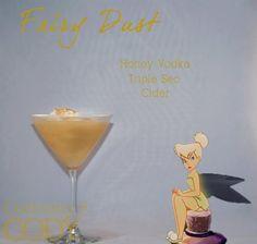 Fairy Dust - Hard Cider, Honey Vodka, Triple Sec