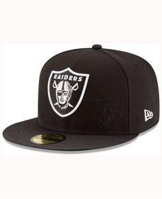 da6347634a7df New Era Oakland Raiders Sideline 59FIFTY Cap   Reviews - Sports Fan Shop By  Lids - Men - Macy s