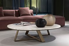 Judd Low tables by Meridiani | Lounge tables