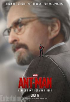 'Ant-Man': 7 EW Exclusive New Character Posters | Michael Douglas as brilliant inventor, Dr. Hank Pym | EW.com