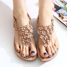 New Fashion Floral bohemian Sandals Shoes
