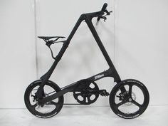 Carbon #Strida apparently being shown at the 2014 #EuroBike if you check out Mark Sanders Twitter @77A
