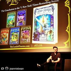 San Jose 7/26/17 I Love Books, Good Books, Land Of Stories Books, Chris Colfer, Glee, Book Series, Book Worms, Fairy Tales, Fangirl